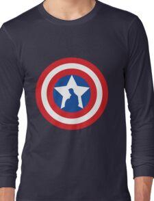 Cap's Shield Long Sleeve T-Shirt