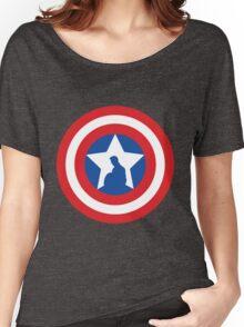 Cap's Shield Women's Relaxed Fit T-Shirt