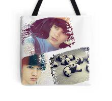 Brent Rivera & Panda Tote Bag
