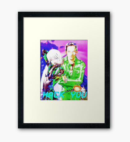 Soul Hackers Framed Print