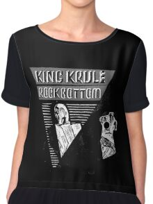 King Krule - Rock Bottom -  Chiffon Top