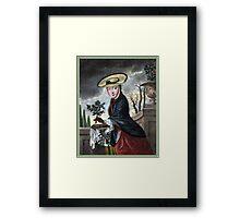 Allegory of December - Christmas Framed Print