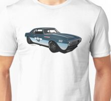 1968 Camaro Navy Racer Unisex T-Shirt