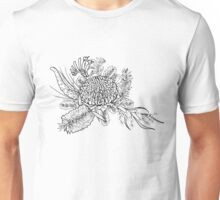 Australian Native Flowers Unisex T-Shirt