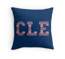 CLE - Indians Aztec Throw Pillow