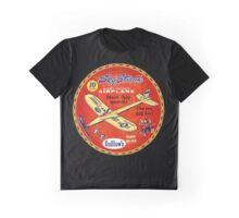Sky Streak Balsa gliders- Fun Graphic T-Shirt