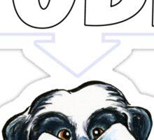 Shih Tzu Tude (Dark) Sticker