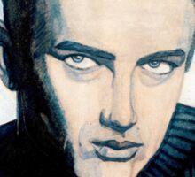 James Dean: Blue Sticker