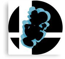 SUPER SMASH BROS: Yoshi -Wii U Canvas Print