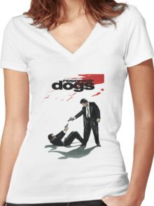 Reservoir Dogs Women's Fitted V-Neck T-Shirt