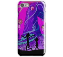 Rick and Morty - Purple Planet Adventure iPhone Case/Skin