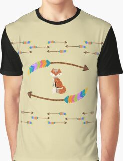 Fox - Arrows  Graphic T-Shirt