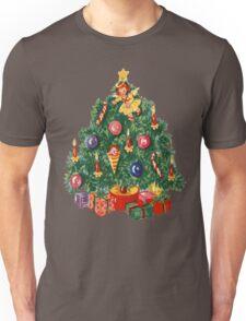 Ugly Christmas Sweater Retro Christmas Tree Unisex T-Shirt