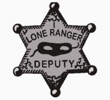 Lone Ranger- Badge by JordanMay