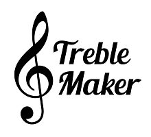 Treble Maker Musical Humour Photographic Print