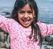 Happiness is a California Beach! by Heather Friedman