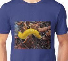 Curvy banana slug- Santa Cruz, California Unisex T-Shirt