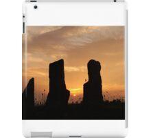 stones vs sunset iPad Case/Skin