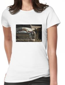 Abandoned 1947-1954 GMC truck Womens Fitted T-Shirt