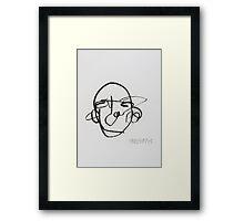 (TACTILE) SELF PORTRAIT #3 Framed Print