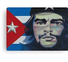 Che Guevara poster- Vinales, Cuba Canvas Print