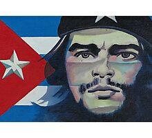 Che Guevara poster- Vinales, Cuba Photographic Print