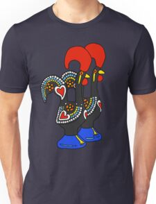 Portuguese Rooster Couple Unisex T-Shirt