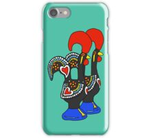 Portuguese Rooster Couple iPhone Case/Skin