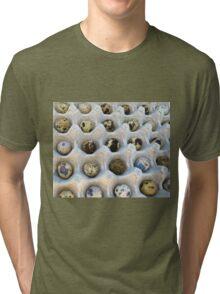 quail eggs- Vinales, Cuba Tri-blend T-Shirt