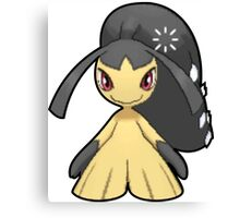 Mawile - Pokemon Thick Border Canvas Print