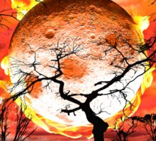 Hot Summers Night Sticker