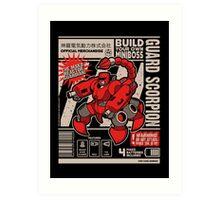 Build Your Boss - Guard Scorpion Art Print