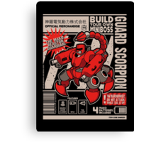 Build Your Boss - Guard Scorpion Canvas Print