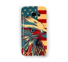 American Patriotic Eagle Bald Samsung Galaxy Case/Skin