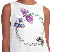 butterflies Contrast Tank
