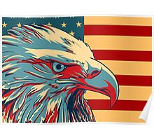 American Patriotic Eagle Flag iPhone 5 Case /  iPad Case / iPhone 4 Case / Prints  / Samsung Galaxy Cases / Duvet / Mug  Poster