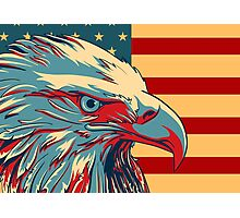 American Patriotic Eagle Bald Photographic Print