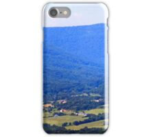 Blue Ridge Mountains Panorama iPhone Case/Skin
