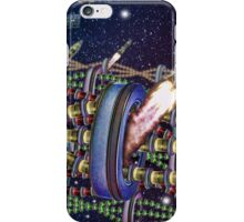 The Rainbow Tin Can Chain Station TIME FOLDING iPhone Case/Skin