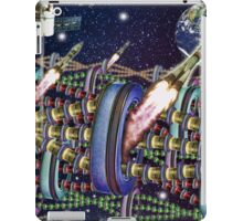 The Rainbow Tin Can Chain Station TIME FOLDING iPad Case/Skin