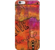 Ultimate LOVE is a Just So Colorful iPhone Case/Skin