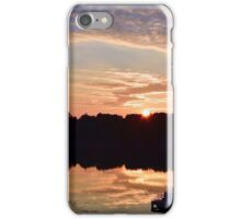 Sunrise on Oxbow iPhone Case/Skin