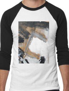 gray Men's Baseball ¾ T-Shirt