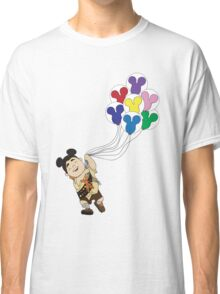 Up + Mickey Balloons Classic T-Shirt