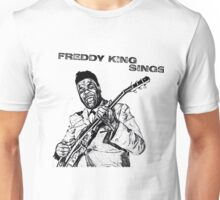 Freddie King in Pencil Unisex T-Shirt