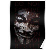 Do Not Regret Poster