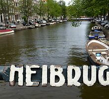 Amsterdam - All Canals and Bridges by UrsulaRodgers