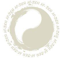 Zen AF-Cream Photographic Print