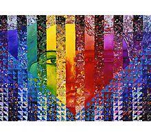 Conundrum I - Rainbow Woman Photographic Print