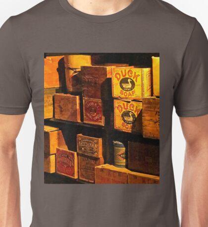 Kam Wah Chung museum shelves Unisex T-Shirt
